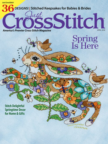 Just CrossStitch - Volume 36, Issue 2 April 2018
