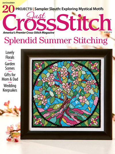 Just CrossStitch - Volume 36, Issue 3 June 2018