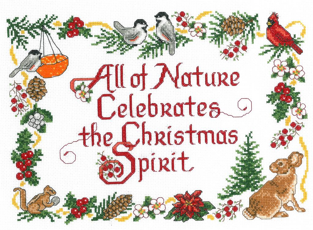 Nature's Christmas - Cross Stitch Pattern