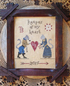 Keeper of My Heart - Cross Stitch Pattern