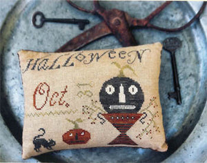 Halloween Pinkeep - Cross Stitch Pattern