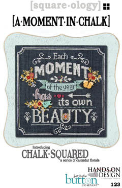 Chalk Squared / Moment in Chalk - Cross Stitch Pattern