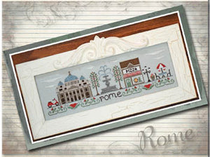 Afternoon in Rome - Cross Stitch Pattern