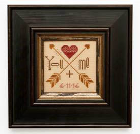 Wee One - You + Me - Cross Stitch Pattern