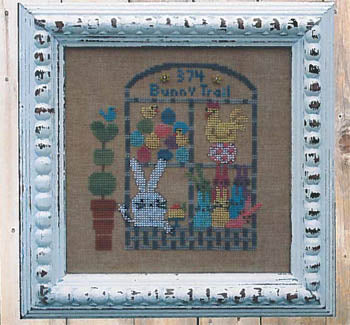 Neighbors - Easter Bunny Trail - The Starlight Stitchery
