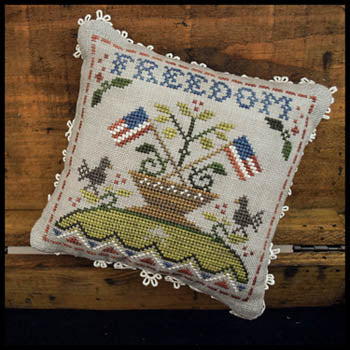 Early Americans #5 - Freedom - Cross Stitch Pattern