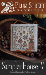 Sampler House IV - Cross Stitch Pattern