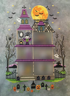 The Haunted Mansion #2 - Part 2: Room One - Dracula - Cross Stitch Pattern