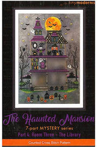 The Haunted Mansion #4 - Part 4: Room Three - The Library - Cross Stitch Pattern