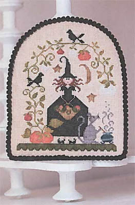 Jolie Sorcière - Cross Stitch Pattern
