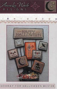 Hooray for Halloween - Cross Stitch Pattern