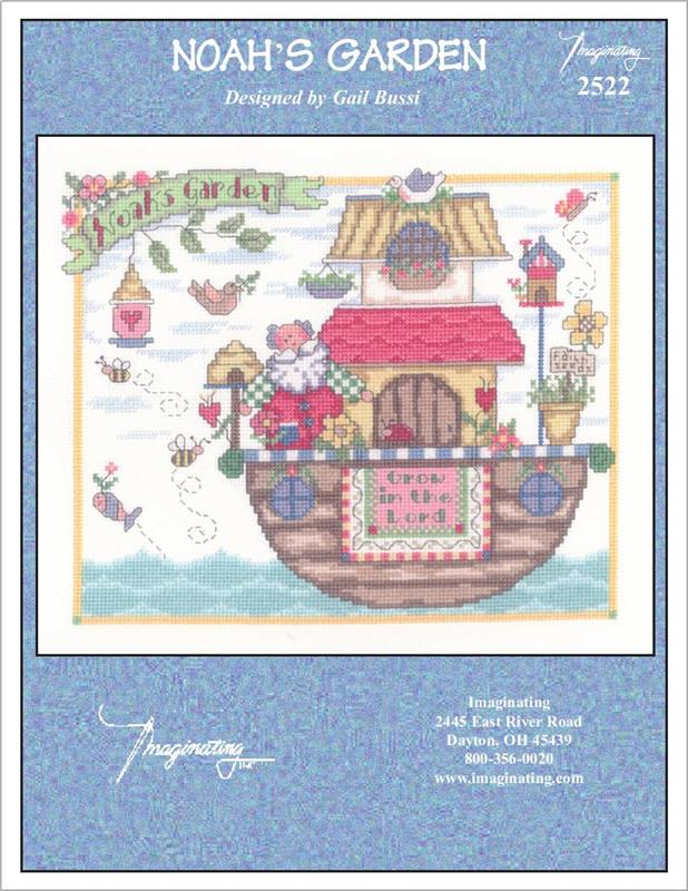 Noah's Garden - Cross Stitch Pattern