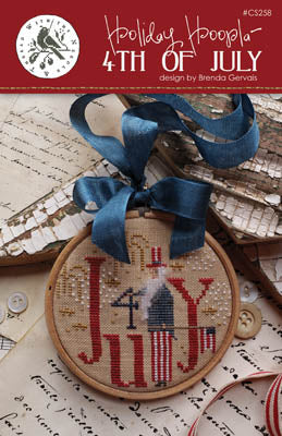 Holiday Hoopla - 4th Of July - Cross Stitch Pattern