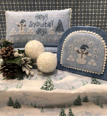 Happy Snowball Days - Cross Stitch Pattern