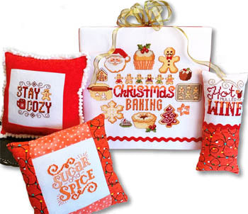 Christmas Baking Motifs - Cross Stitch Pattern