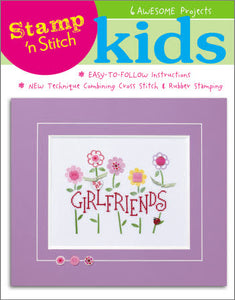 Stamp 'N Stitch - Kids - Cross Stitch Pattern