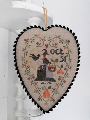 Coeur de Sorcière (Witch's Heart) - Cross Stitch Pattern