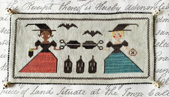 Crafty Witches - Lucy Beam Love in Stitches - Cross Stitch Pattern