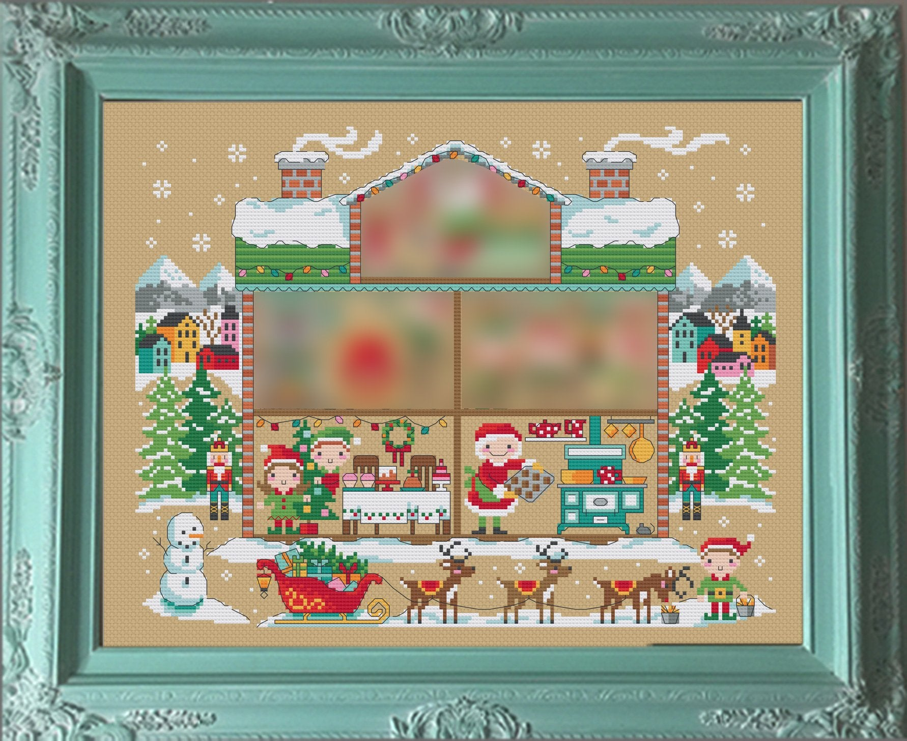 Santa's House #3 - Room 2: The Kitchen