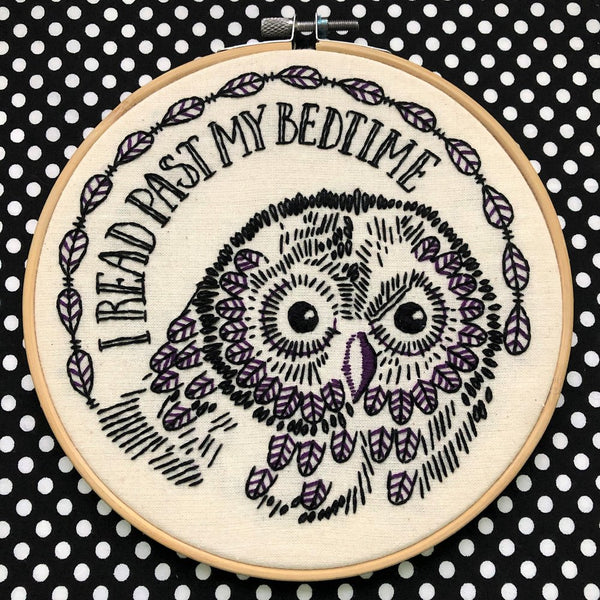"Owl ""I Read Past My Bedtime"""