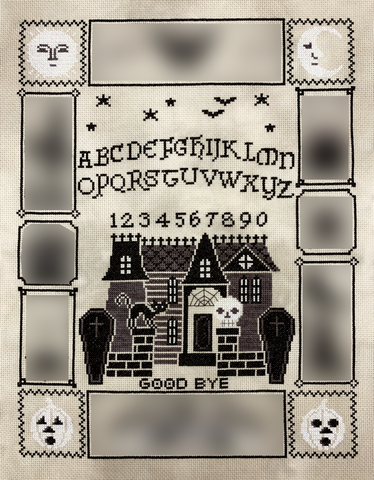Tiny Modernist Halloween Ouija (part 2/5)