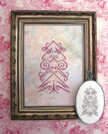 Wish Tree Ornament - Cross Stitch Pattern