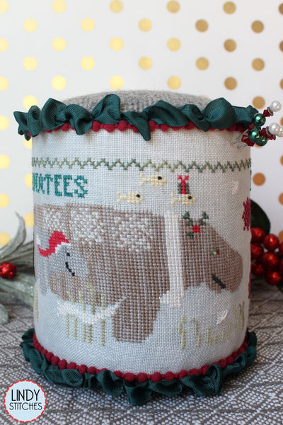 Merry Manatees - Cross Stitch Pattern