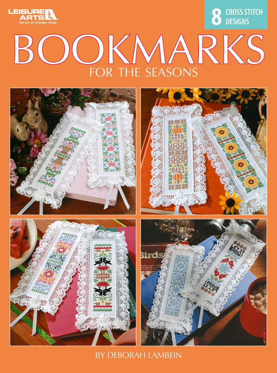 Bookmarks for the Seasons - Cross Stitch Pattern