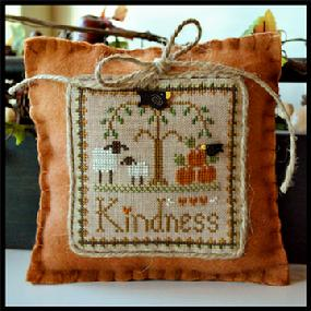 Little Sheep Virtues #10 - Kindness - Cross Stitch Pattern