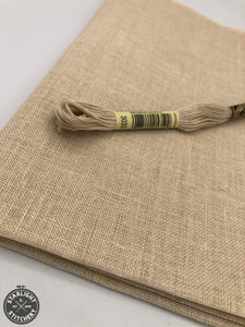 32 ct Belfast Linen - Lambswool (variegated) - Cross Stitch Fabric