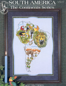 South America - Cross Stitch Pattern