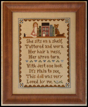The Old Doll - Cross Stitch Pattern