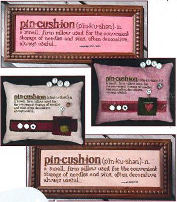 Dictionary Duo Series - Pincushion - Cross Stitch Pattern