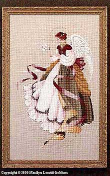 Angel of Grace - Cross Stitch Pattern