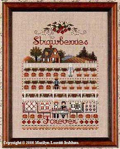 Strawberries Forever - Cross Stitch Pattern