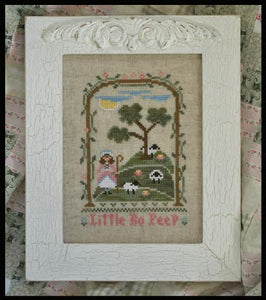 Country Cottage Kids #14 - Little Bo Peep - The Starlight Stitchery