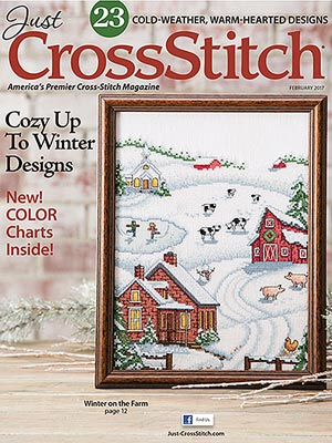 Just CrossStitch - Volume 35, Issue 1 February 2017