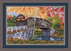 Humpback Bridge - Cross Stitch Pattern