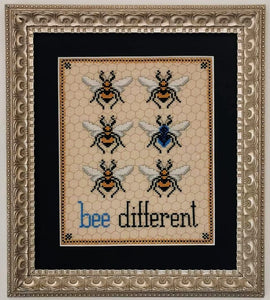 Bee Different - Cross Stitch Pattern