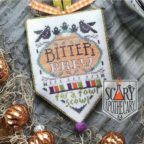 Scary Apothecary #2 - Bitter Brew - Cross Stitch Pattern