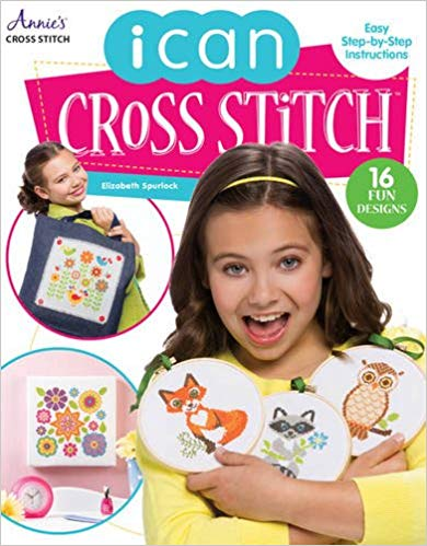 I Can Cross Stitch by Elizabeth Spurlock