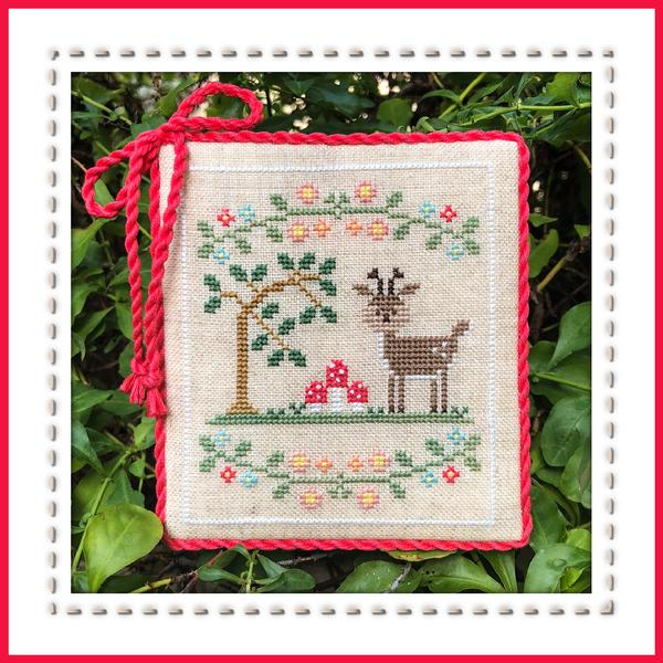 Welcome to the Forest #2 - Forest Deer - The Starlight Stitchery