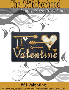 Valentine - Cross Stitch Pattern