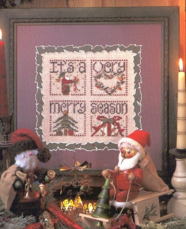 A Merry Season - Cross Stitch Pattern