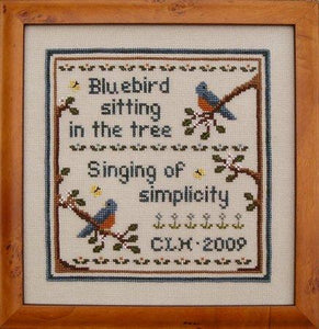 Singing Summer's Song - Cross Stitch Pattern