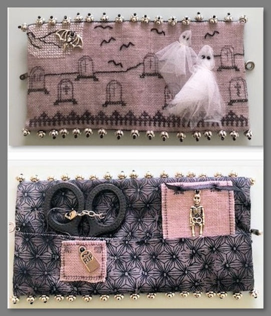 Get Away Ghost Graveyard Case - Cross Stitch Kit