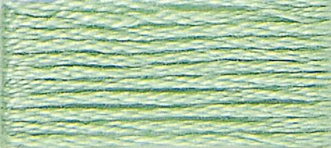 13 (Medium Light Nile Green) - DMC Embroidery Floss