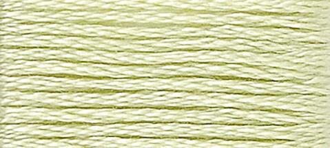 14 (Pale Apple Green) - DMC Embroidery Floss