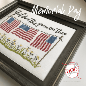 Memorial Day - Cross Stitch Pattern