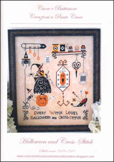 Halloween and Cross Stitch